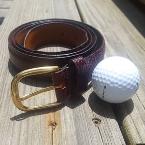 Cole Haan Men's Leather Belt